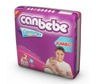 CANBEBE Bebek Bezi Avantaj Jumbo Paket Mini 2 Beden (3-6 kg) 80'li