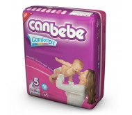 CANBEBE Bebek Bezi Süper Ekonomik Junior 5 Beden (11-25 kg) 30'lu