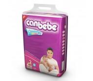 CANBEBE Bebek Bezi Süper Ekonomik Mini 2 Beden (3-6 kg) 54'lü