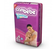 CANBEBE Bebek Bezi Süper Ekonomik Maxi 4 Beden (7-18 kg) 40'lı