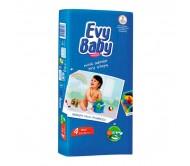 EVY BABY Bebek Bezi Kremli İkiz Paket Maxi 4 Beden (8-18 kg) 40`lı
