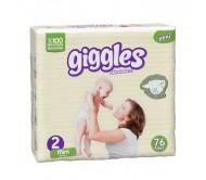 Giggles Bebek Bezi Jumbo Paket Mini 2 Beden (3-6 kg) 76'lı