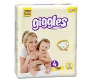 Giggles Bebek Bezi Jumbo Paket Maxi 4 Beden (7-18 kg) 60'lı