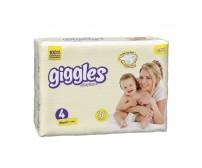 Giggles Bebek Bezi Maxi İkiz Paket 4 Beden (7-18 kg) 36'lı