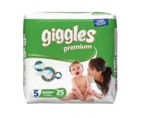 Giggles Premium Bebek Bezi Junior 5 Beden (11-25 kg) 25'li