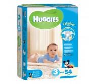 HUGGİES Bebek Bezi Jumbo Erkek Paket 3 Beden (4-9 kg) 54'lü