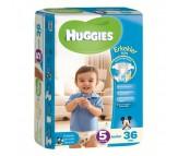 Huggies Bebek Bezi Jumbo Junior Erkek 5 Beden (12-25 kg) 36'lı
