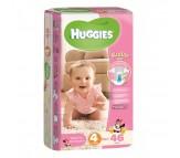 HUGGİES Bebek Bezi Jumbo Kız Paket 4 Beden (7-18 kg) 46'lı
