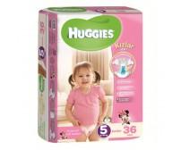 HUGGİES Bebek Bezi Jumbo Kız Paket 5 Beden (12-25 kg) 36'lı