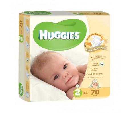 HUGGİES Bebek Bezi Jumbo Unisex 2 Beden (3-6 kg) 70'li
