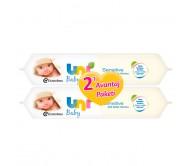 Uni Baby Sensitive Islak Bebek Havlusu 2'li Avantaj Paketi 56x2 Adet